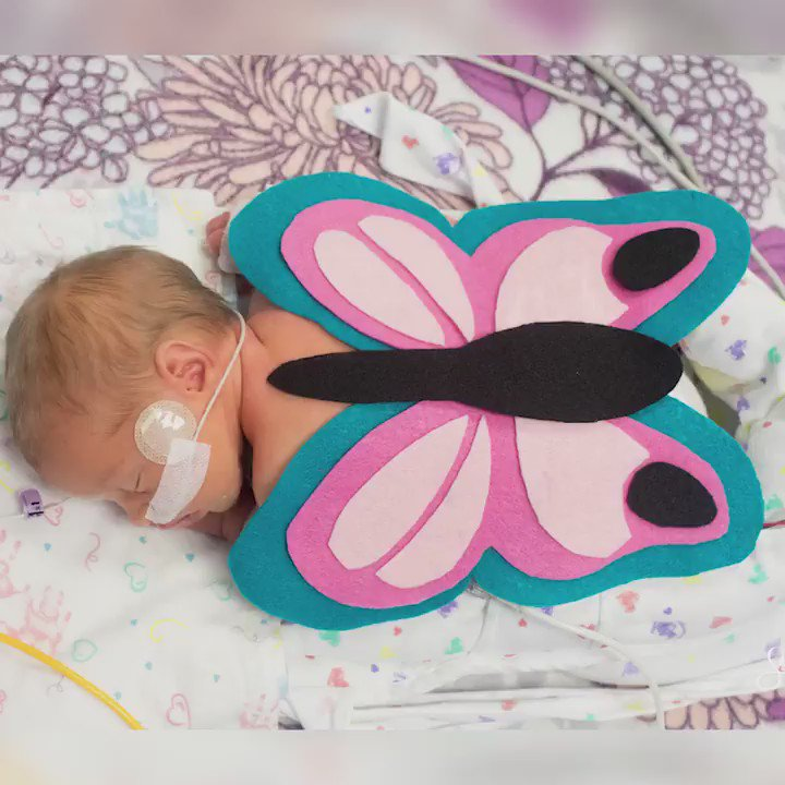Is there anything cuter than these tiny NICU babies wearing Halloween costumes?