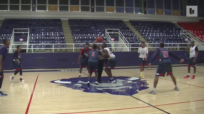 Here's how James Daniels injured his ankle right before the season started. #HowardUballers https://t.co/taR2bcHMg6