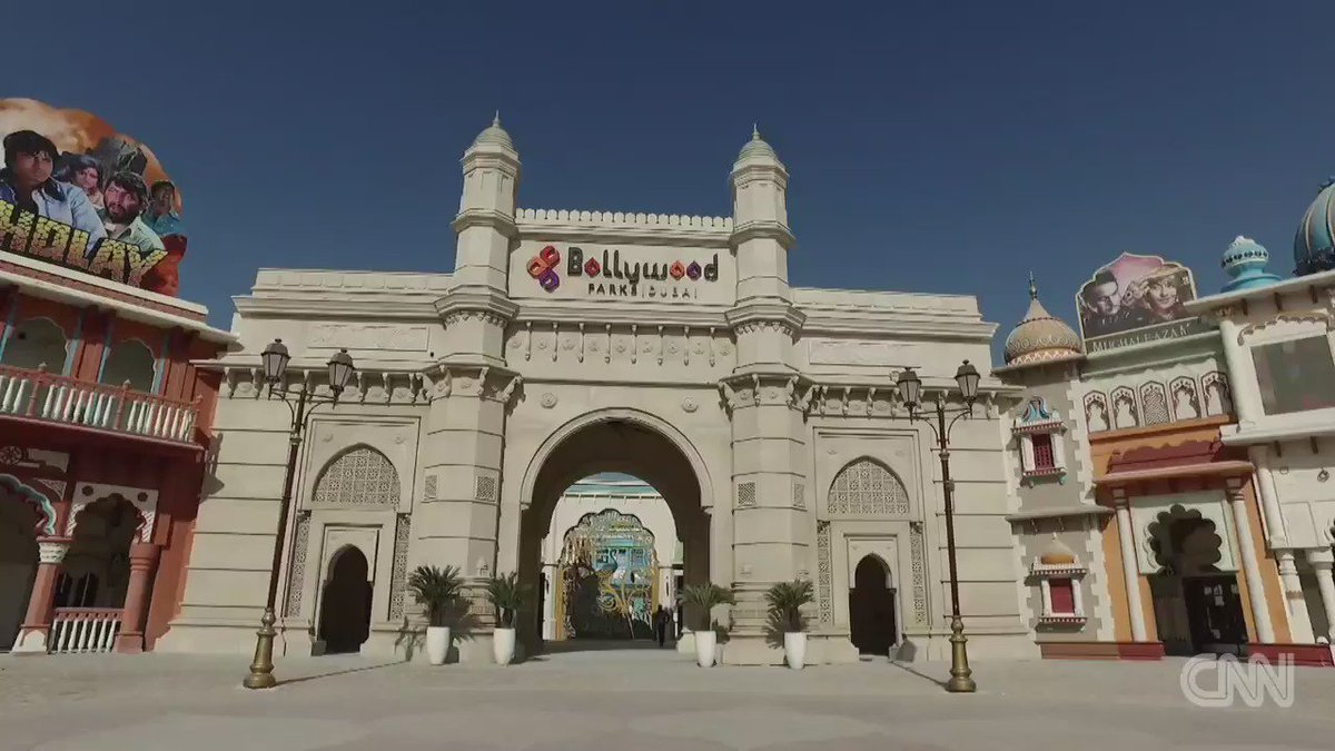Take a peek inside the world's first Bollywood theme park