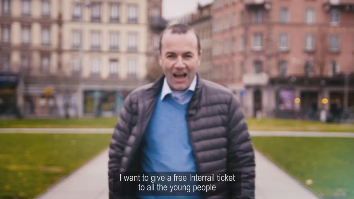 We want to give every European a free #Interrail pass when they turn 18th. Watch our video to learn why #DiscoverEU https://t.co/rRLxuP8jux