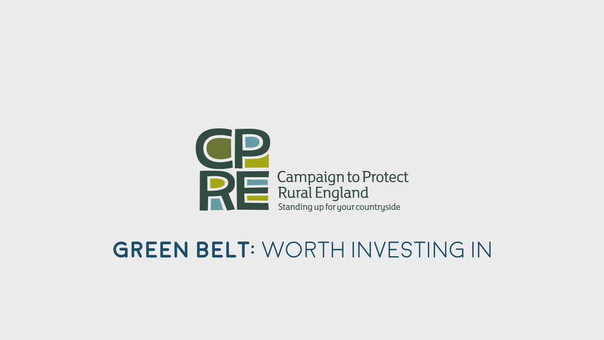 Our Green Belts are under increasing pressure - so it's more important than ever to protect and invest in them! https://t.co/u5xTOymRi2