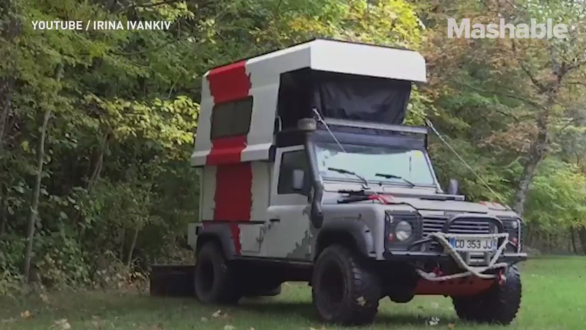 This truck expands into a home in seconds https://t.co/w2ZNfCyCRS
