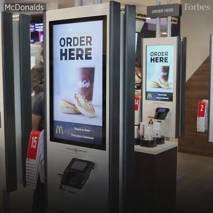 McDonald's self-serve kiosks have already appeared in Florida, New York and California. More states to come in 2017: https://t.co/GAaY2NDl05