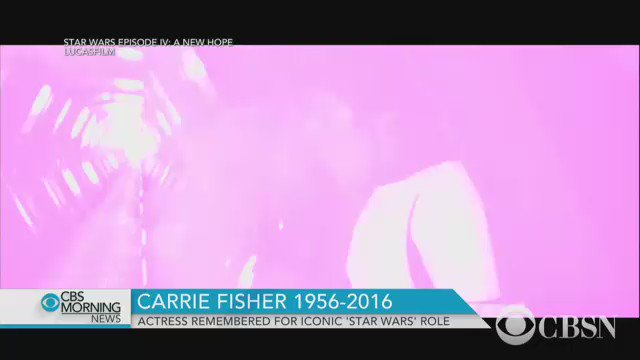 Carrie Fisher was known for her acting, wit and humor. More on the Hollywood icon:
