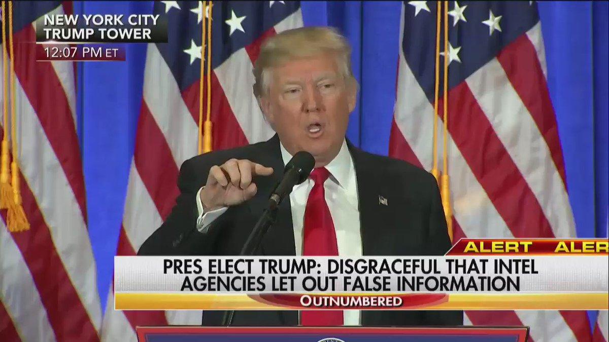 EARLIER: President-elect @realDonaldTrump to reporter: 'YOU are fake news.' https://t.co/JPNZdud14B