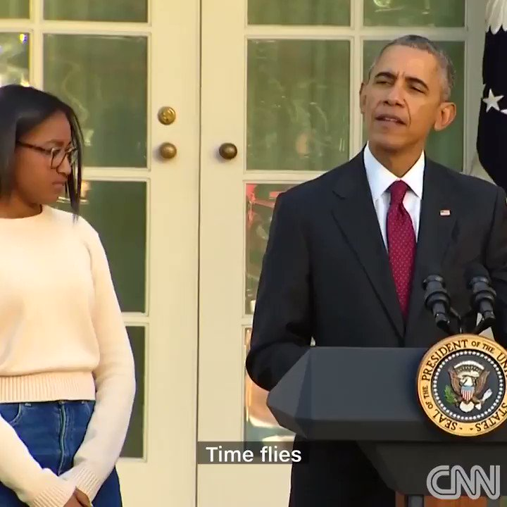 Even President Obama can't help but laugh at his own jokes. https://t.co/cem6vlTGE2