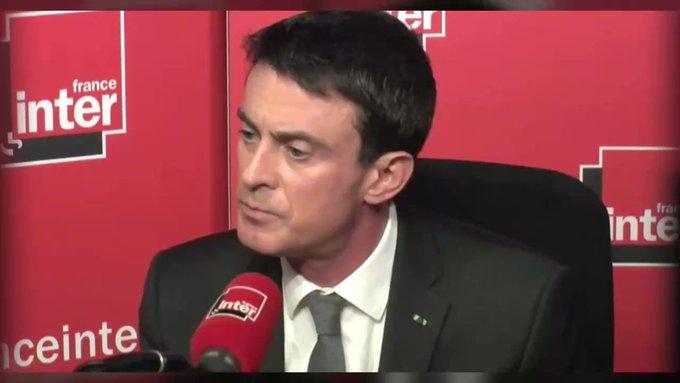 Un auditeur à Manuel Valls : 'La claque, on est 66 millions à vouloir te la mettre. C'était juste trop bon.'