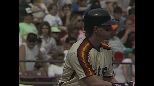 Jeff Bagwell's third @MLB homer might still be in orbit. #HOF2017