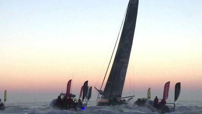 Vendée Globe: Alex Thomson heureux deuxième #AFP