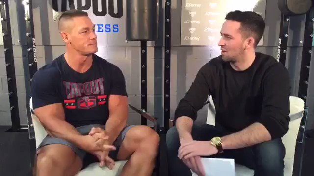 .@johncena sits down with @brianpnealon and talks fitness, the WWE, and his future in Hollywood. #fitness