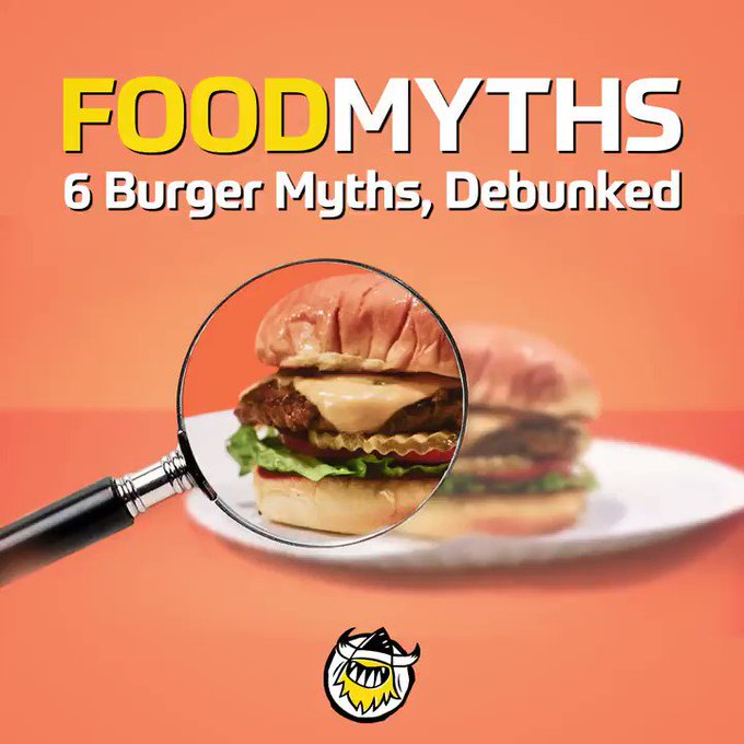 FACTS: Let us help you get your knowledge straight and debunk the most common burger myths.