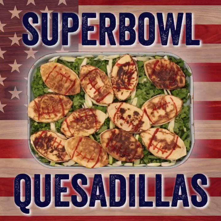 Not long till the #SUPERBOWL baby!!!! wooohoo bring out those quesadillas... https://t.co/JjV7NO8B2x