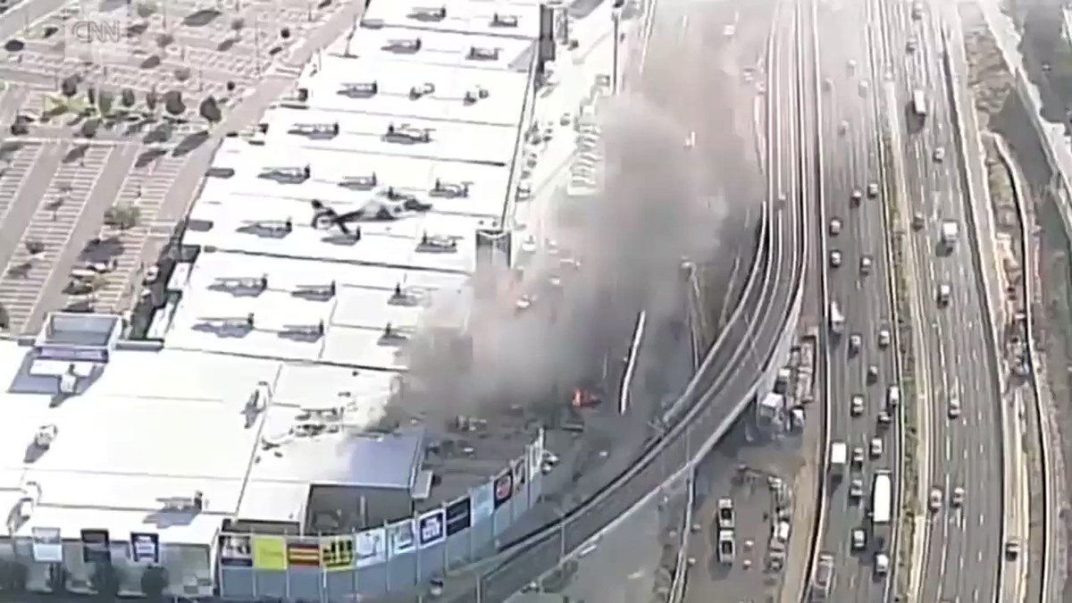 Small plane crashes into Australian mall, killing the pilot and 4 US citizens https://t.co/GnQab1yQj5