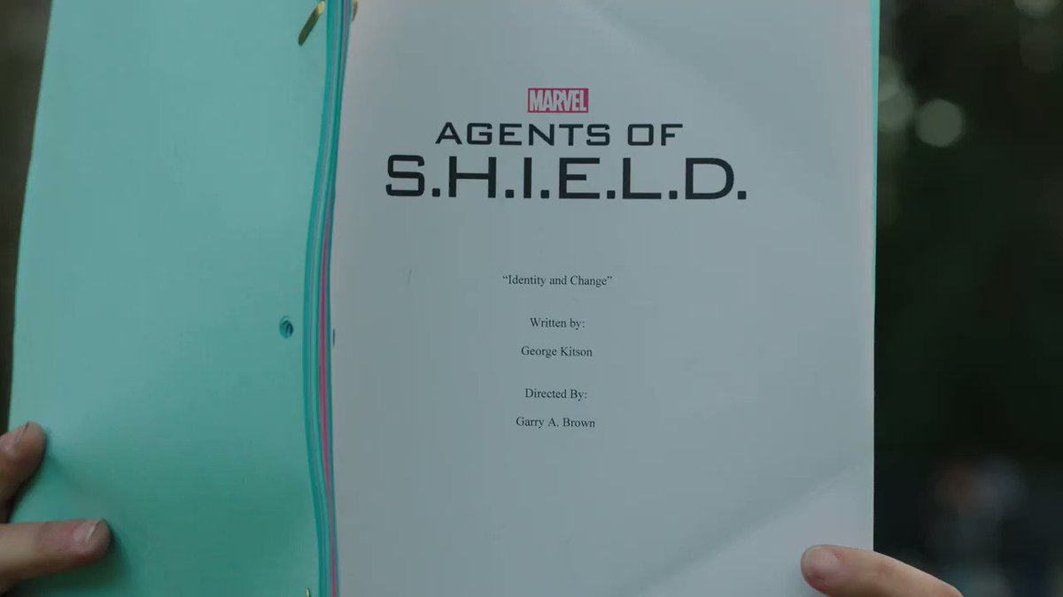 SPOILER WARNING Guess who's back...#AgentsofSHIELD