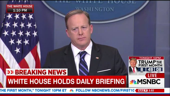 Sean Spicer: 'I think Hollywood is known for being rather far to the left in its opinions.'