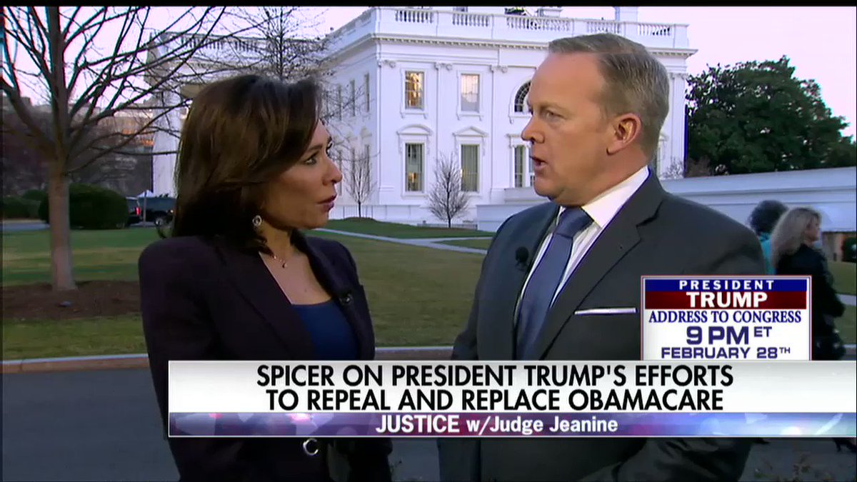 .@seanspicer: 'During the Obama Administration, [ICE] had their hands tied.' @JudgeJeanine