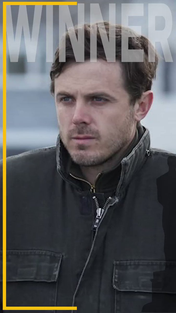 Congratulations to #CaseyAffleck for winning Best Actor for #ManchesterByTheSea at the 2017 #Oscars!