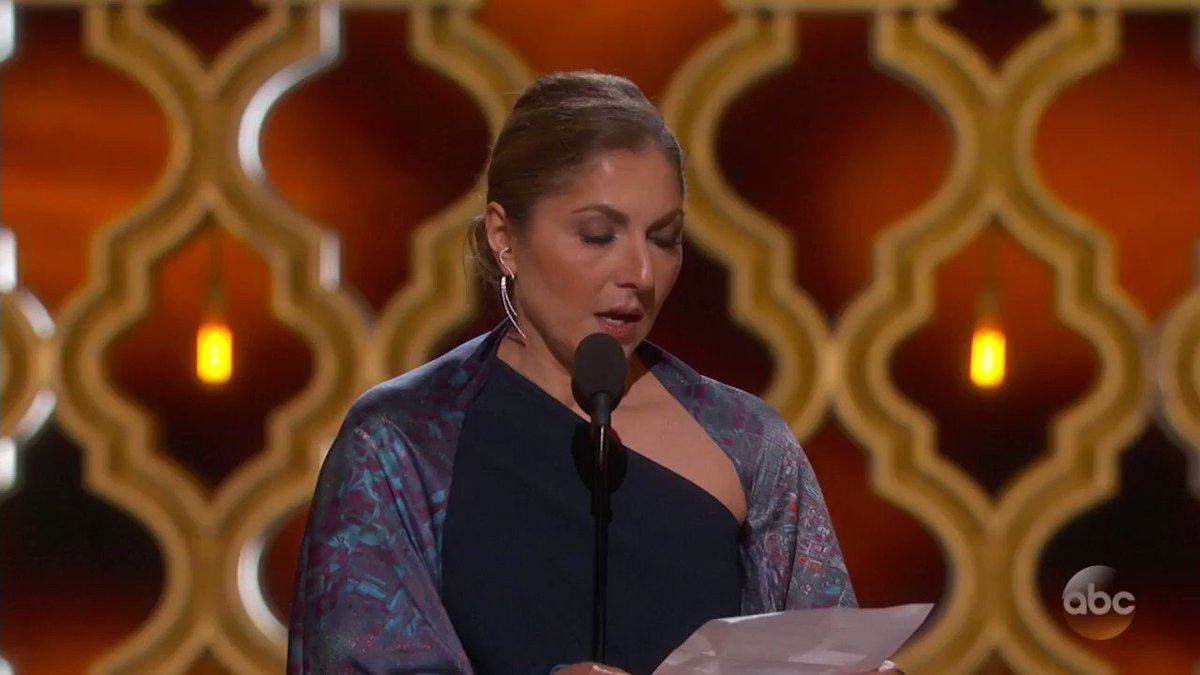 The Oscars weren't afraid to get political
