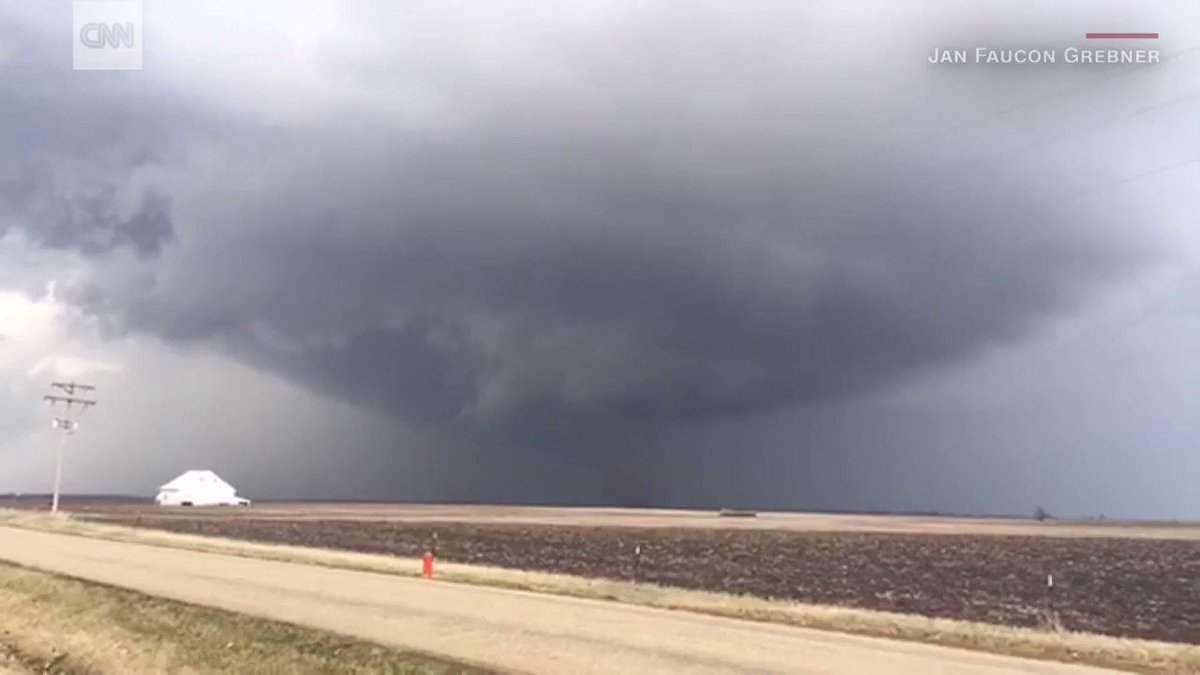 22 tornadoes ripped through the Midwest on Tuesday. More severe weather is possible today: