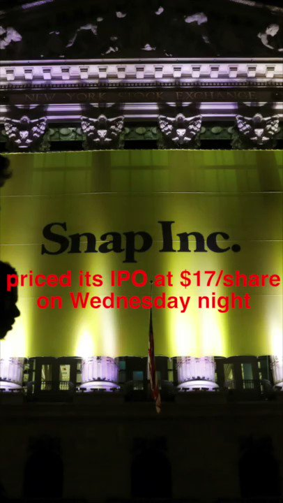 'Too big to fail'? $SNAP's big day on @NYSE.