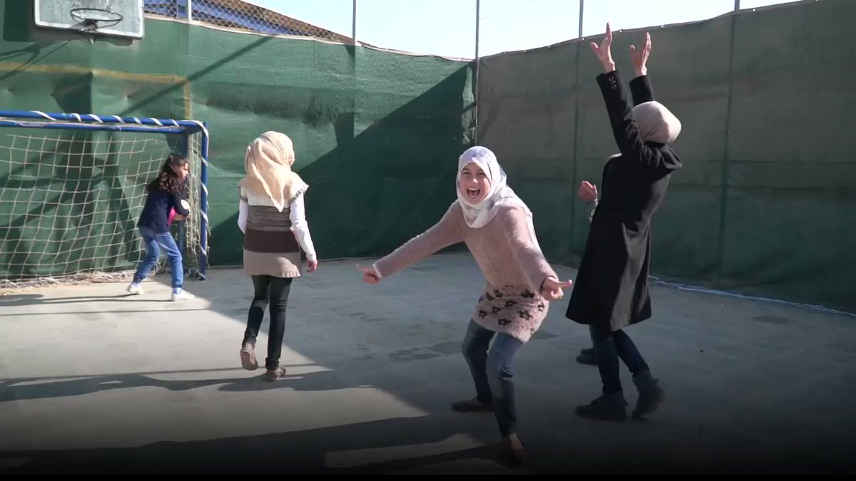 We can't wait to introduce you to the TIGER girls of @ZaatariCamp! #WomensDay https://t.co/m4Eb6G0EDL