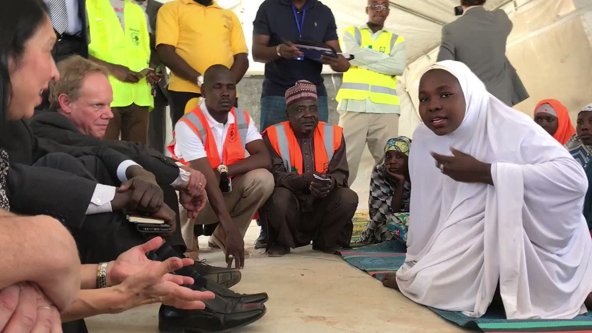 Deputy Perm Rep Sison & #UNSC visited #LakeChadBasin to see #BokoHaram's effects on region: https://t.co/Xg8bMN8ieO https://t.co/Ruhvcp2pU9