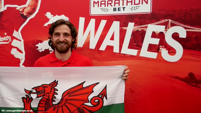 Happy birthday to this Welsh hero, Joe Allen. You don\t mess with a man with a roar like that!