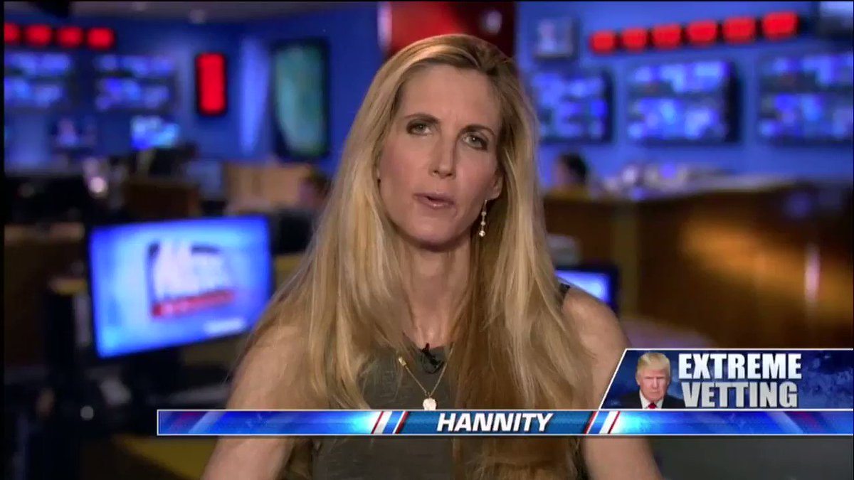.@AnnCoulter on Accepting Refugees to U.S.: 'What Are We Getting Out of This?' https://t.co/pkRKcHu453 https://t.co/BaKiLxCjvc