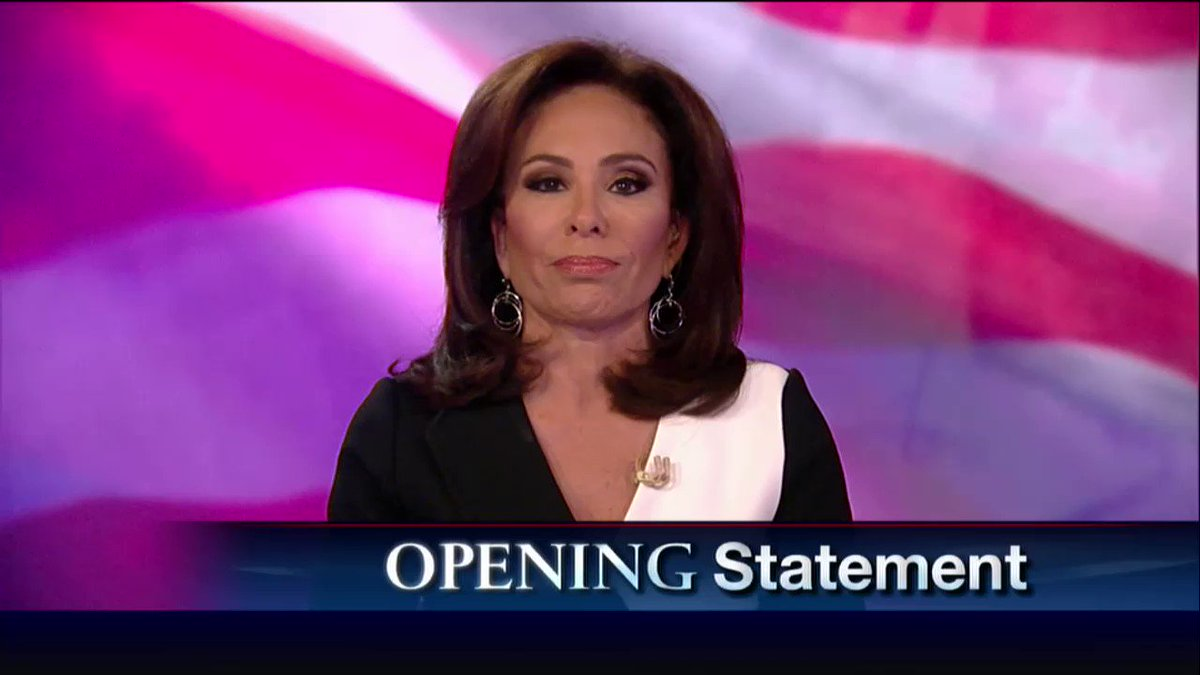 .@JudgeJeanine: 'The left is... simply intolerant of opinions that differ from theirs.'​ https://t.co/Hda0fFC9Dy https://t.co/mwIdfQS5BI