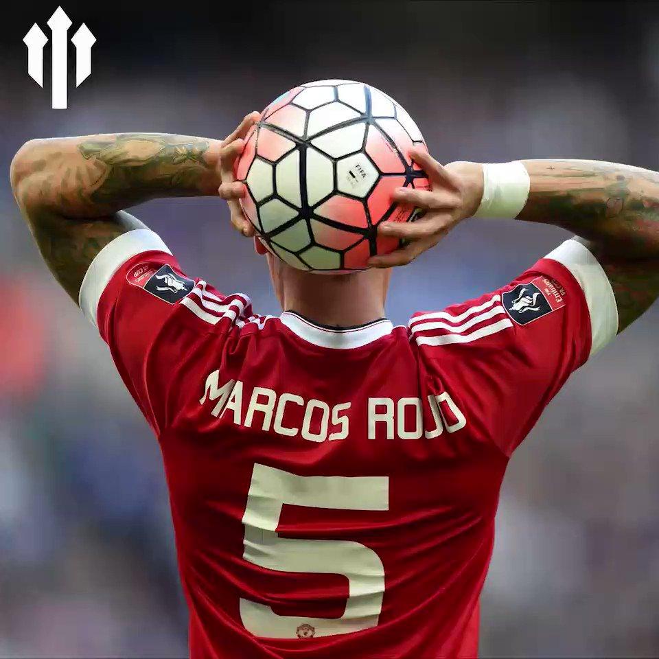 Happy Birthday to Marcos Rojo!