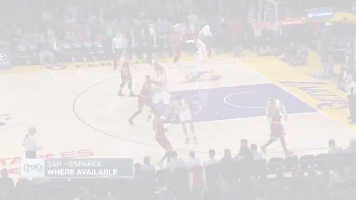 D'Angelo Russell puts up a career-high 40, while Kyrie Irving puts up season-high 46 as the Cavs win in LA. https://t.co/wPB70sDPbV