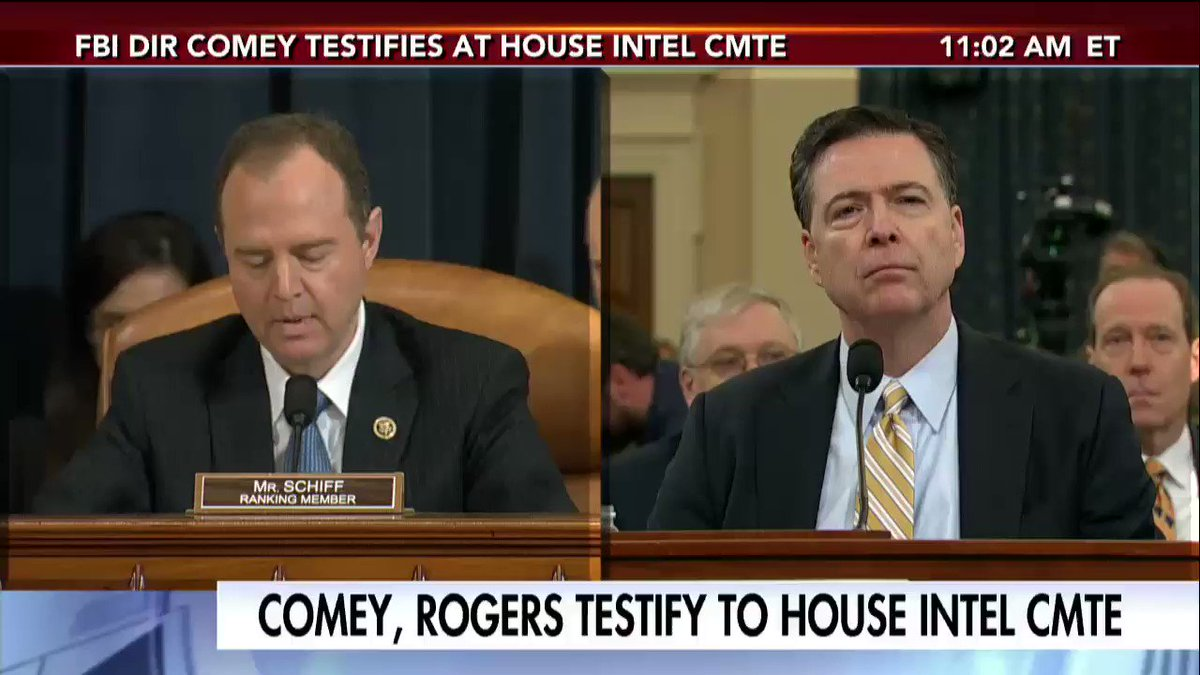 FBI Dir. James Comey: We have no information that supports @POTUS @realDonaldTrump's wiretapping tweets. https://t.co/irawWxNZYX