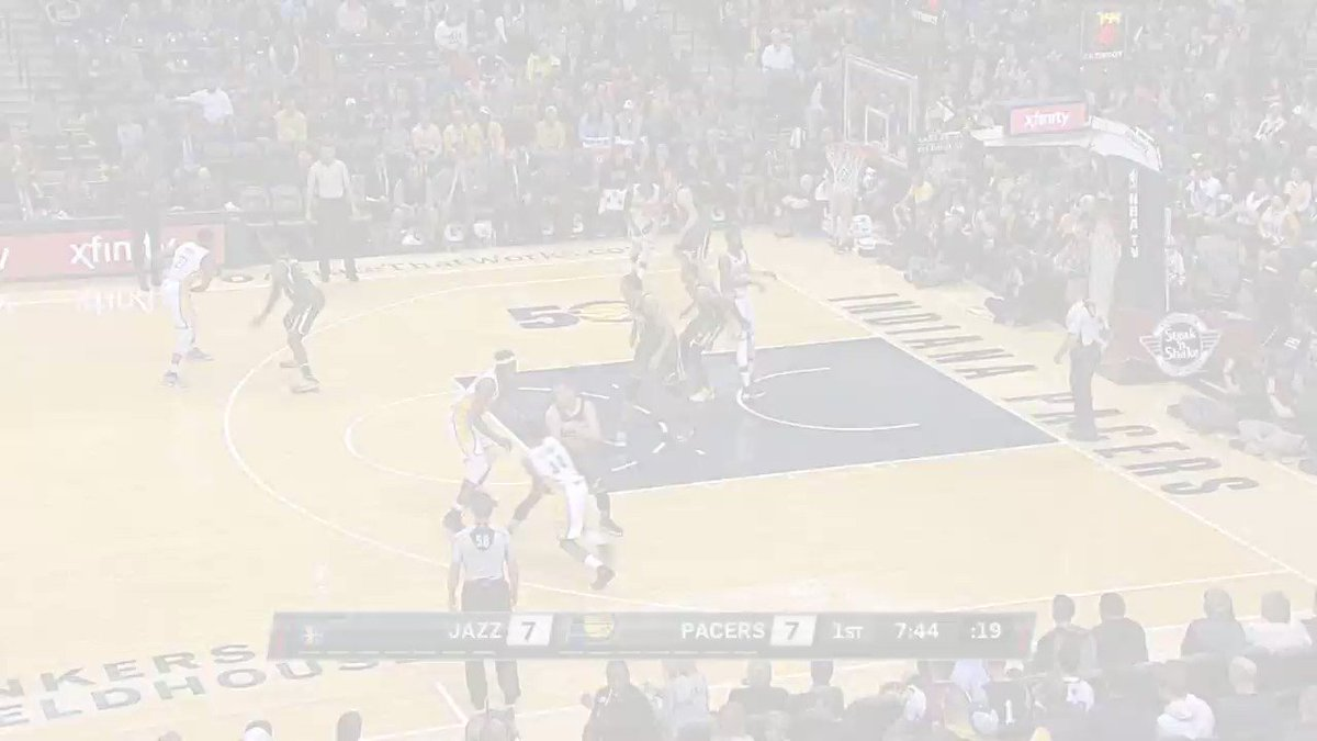 Gordon Hayward drops a career-high 38 at Bankers Life Fieldhouse! https://t.co/CCVkLoLOeF