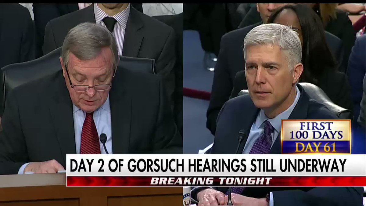 Here's a look at a couple of the more contentious moments from Day 2 of #GorsuchHearing #First100