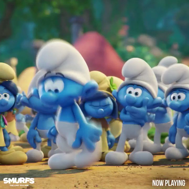 Get your dance on. #SmurfsMovie is now in theaters! https://t.co/eUaqAXJupF �� https://t.co/dkj8ksRVHi