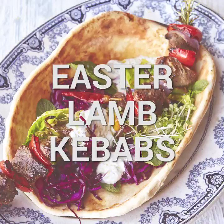 Fire up the BBQ for these beautiful spring lamb kebabs on #Easter sunday!! https://t.co/AbDjyvuQzg https://t.co/TnBYtq9dLS