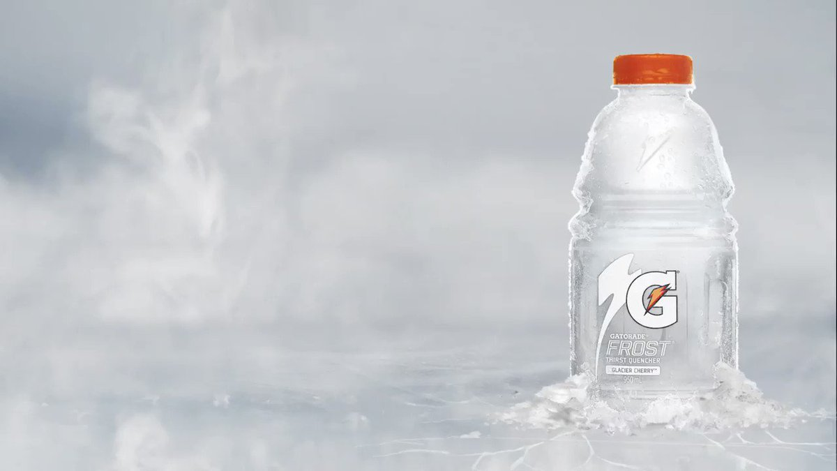 That time of year when you need ice in your veins. Fueled by #GatoradeFrost. @GatoradeCanada #NBAPlayoffs #PlayCool