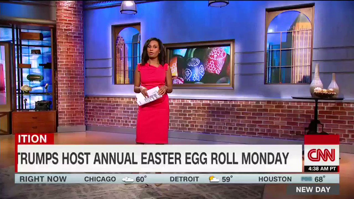 First lady Melania Trump is set to host the 139th annual White House Easter Egg Roll Monday