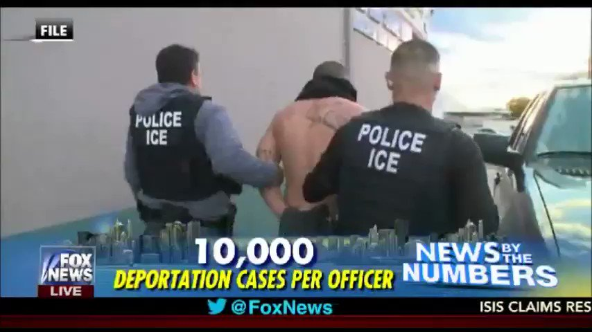 On average, ICE officers get assigned 10K deportation cases per day!