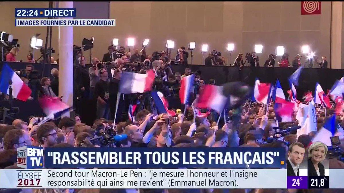 Emmanuel #Macron: 'A Brigitte toujours présente et encore davantage, sans laquelle je ne serais pas moi'