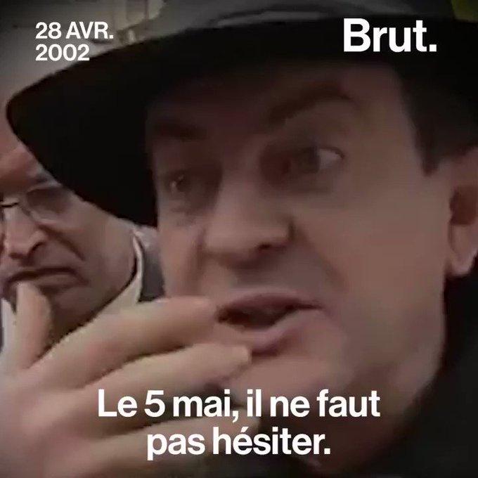 Jean-Luc Mélenchon et le Front National : En avril 2002, il n'hésitait pas.