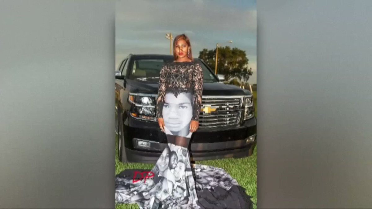 This Florida teen made a statement at prom by wearing a dress with Trayvon Martin's face on it.