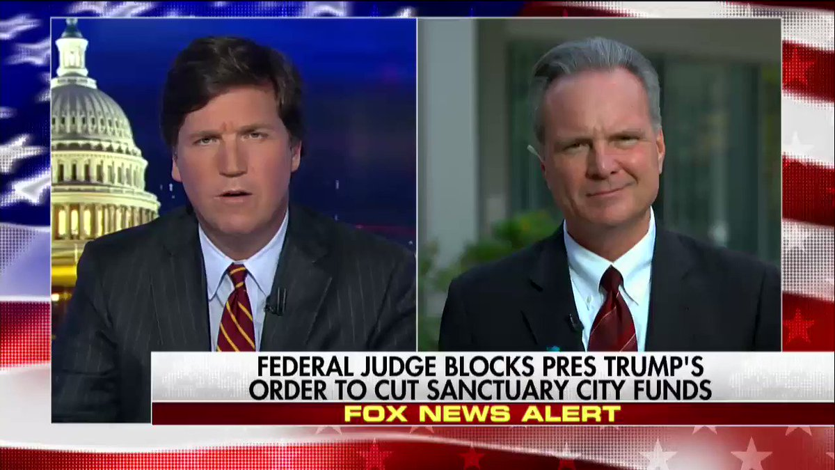 "Dave Cortese ""The Constitution guarantees the right of all persons to due process, regardless of status."" #Tucker"