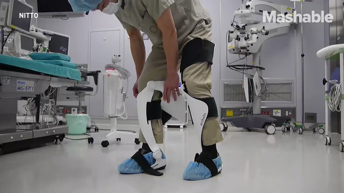 Surgeons have to stand through crazy long surgeries but this wearable chair might make it a little easier on them