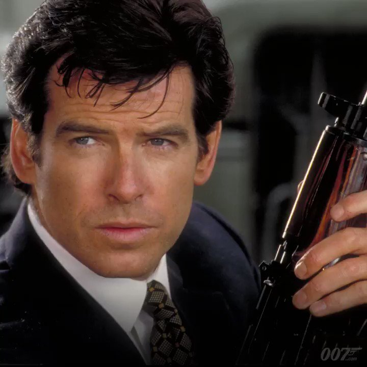 Happy Birthday to Pierce Brosnan. He played 007 in four Bond films. Find out more here: