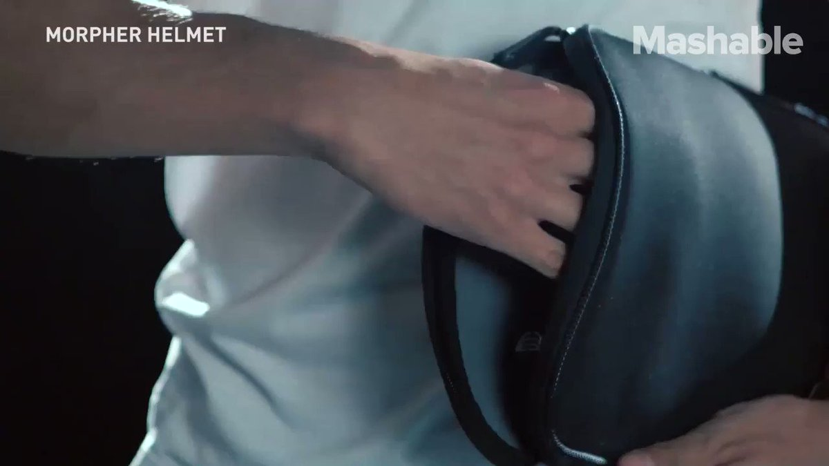 mashable: No more bulky bike helmets to carry around. https://t.co/I0acaoGe2c