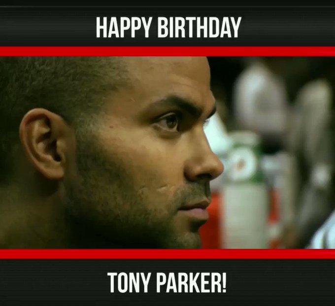 Always improving! Happy birthday Tony Parker!