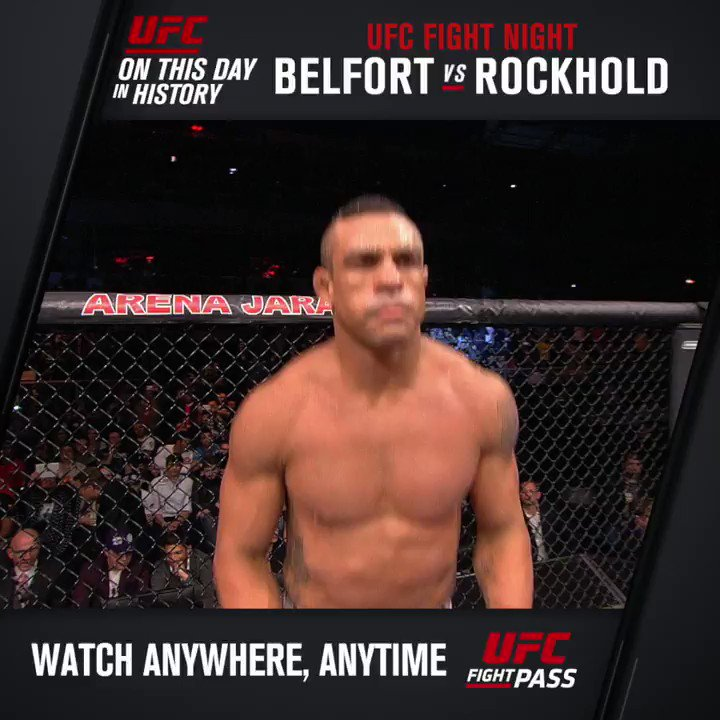#OnThisDay in UFC history, Vitor 'The Phenom' Belfort showed he wasn't done just yet w/ THIS KO ⬇️ https://t.co/b8NkHMTukk
