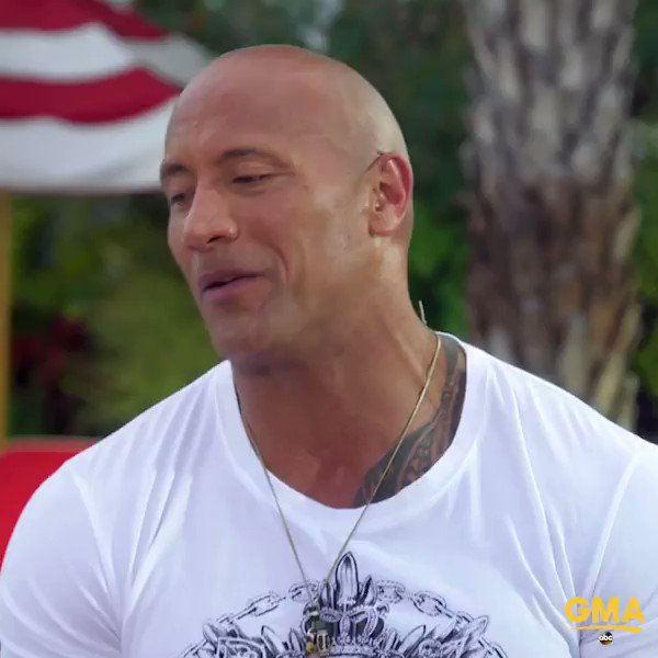 Hey, America, Dwayne @TheRock Johnson is saying 'good morning' to you. https://t.co/NEEND2m3r3