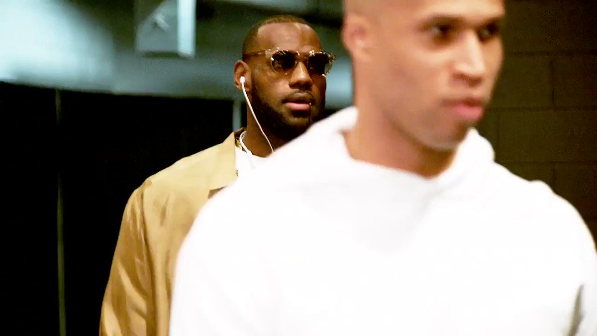 30+ in his last 7 #NBAPlayoffs games.   What will LeBron do tonight?   Game 2: 8:30pm/et on @NBAonTNT. #PhantomCam https://t.co/W52wAjmy3r